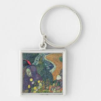 Vincent van Gogh | Ladies of Arles , 1888 Keychain