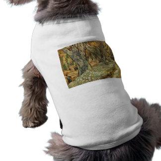 Vincent Van Gogh -  Landscape Trees T-Shirt