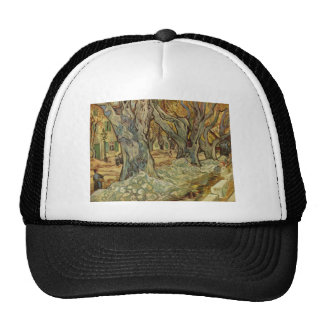Vincent Van Gogh -  Landscape Trees Trucker Hat