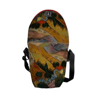 Vincent van Gogh | Landscape w/ House & Ploughman Courier Bag