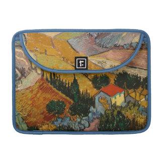 Vincent van Gogh | Landscape w/ House & Ploughman MacBook Pro Sleeve