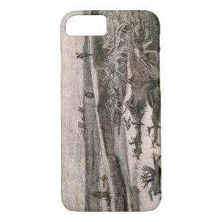 Vincent van Gogh - Landscape with Bog Trunks iPhone 8/7 Case