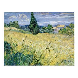 Vincent van Gogh | Landscape with Green Corn, 1889 Postcard