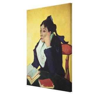 Vincent van Gogh   L'Arlesienne  1888 Canvas Print