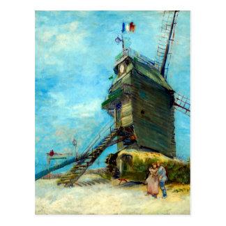 Vincent van Gogh Le Moulin de la Galette Postcard