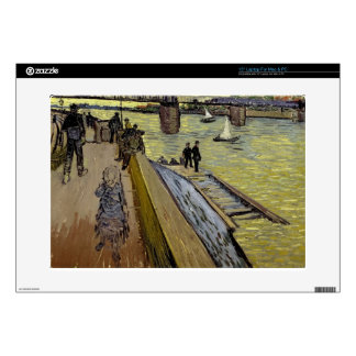 Vincent van Gogh | Le Pont de Trinquetaille Arles Laptop Decal