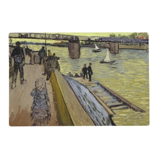 Vincent Van Gogh | Le Pont De Trinquetaille Arles Placemat at Zazzle