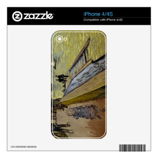 Vincent van Gogh | Le Pont de Trinquetaille Arles Skin For The iPhone 4