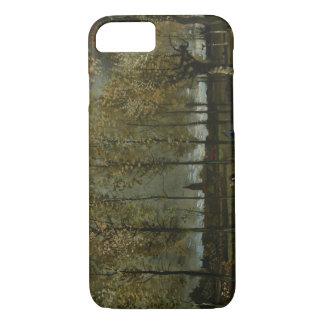 Vincent van Gogh - los álamos acercan a Nuenen Funda iPhone 7
