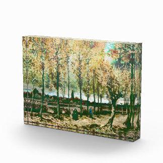 Vincent van Gogh - los álamos en Nuenen
