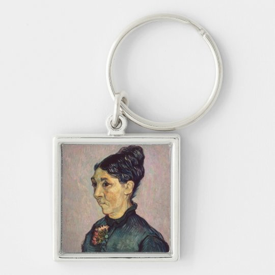 Vincent van Gogh | Madame Jeanne Lafuye Trabuc Keychain