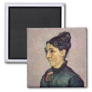 Vincent van Gogh   Madame Jeanne Lafuye Trabuc Magnet