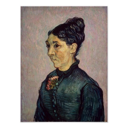 Vincent van Gogh | Madame Jeanne Lafuye Trabuc Poster