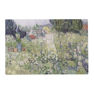 Vincent van Gogh   Mademoiselle Gachet in garden Placemat