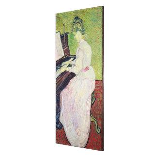 Vincent van Gogh   Marguerite Gachet at the Piano Canvas Print