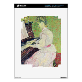 Vincent van Gogh | Marguerite Gachet at the Piano Decal For iPad 3