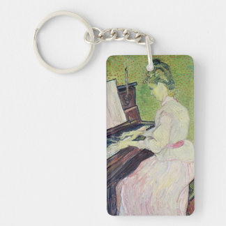 Vincent van Gogh | Marguerite Gachet at the Piano Keychain