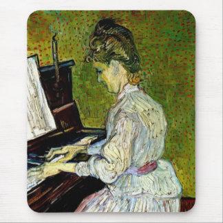 Vincent Van Gogh - Marguerite Gachet At The Piano Mouse Pad