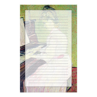 Vincent van Gogh | Marguerite Gachet at the Piano Stationery
