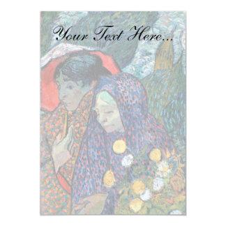 Vincent Van Gogh - Memory Of The Garden At Etten Card
