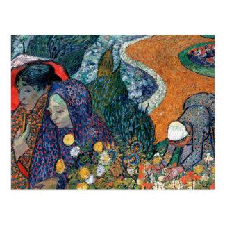 Vincent Van Gogh - Memory Of The Garden At Etten Postcard