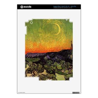 Vincent Van Gogh Moonlit Landscape iPad 3 Decal