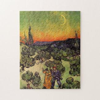 Vincent Van Gogh Moonlit Landscape Jigsaw Puzzle