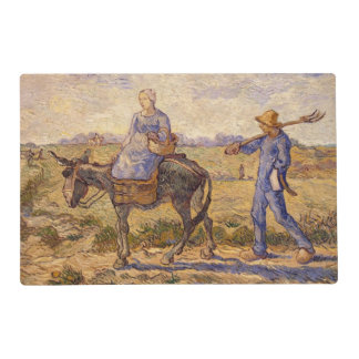 Vincent van Gogh | Morning, going out to work Placemat