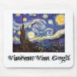Vincent van Gogh Mousepad Tapetes De Raton