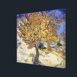 "Vincent van Gogh | Mulberry Tree, 1889 Canvas Print<br><div class=""desc"">Mulberry Tree,  1889 | by Vincent van Gogh | Art Location: Norton Simon Collection,  Pasadena,  CA,  USA | Dutch Artist | Image Collection Number: XTD68230</div>"