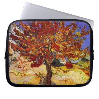 Vincent Van Gogh Mulberry Tree Fine Art Painting Computer Sleeve