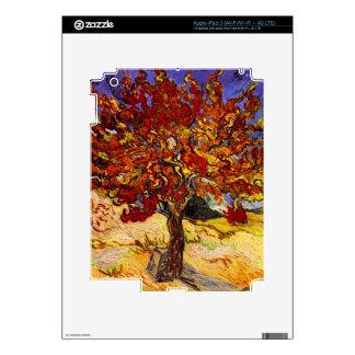 Vincent Van Gogh Mulberry Tree Fine Art Painting iPad 3 Skin