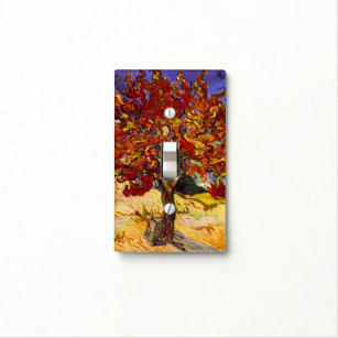 Vincent Van Gogh Mulberry Tree Fine Art Painting Light Switch Cover Nice Ideas