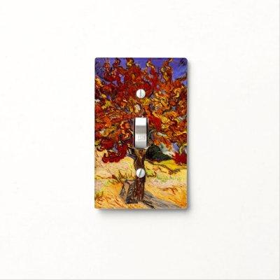 Van Gogh Irises Vincent Painting Light Switch Cover