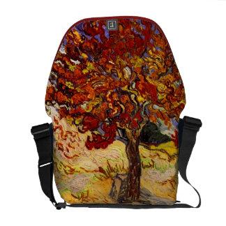 Vincent Van Gogh Mulberry Tree Fine Art Painting Courier Bags