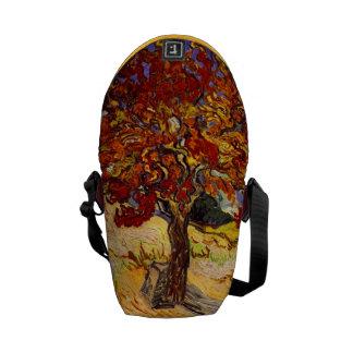 Vincent Van Gogh Mulberry Tree Fine Art Painting Messenger Bag