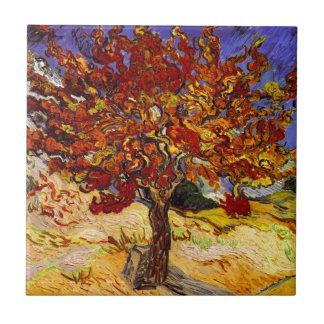 Vincent Van Gogh Mulberry Tree Fine Art Painting Tile