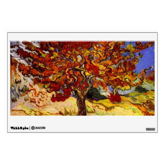 Vincent Van Gogh Mulberry Tree Fine Art Painting Wall Sticker