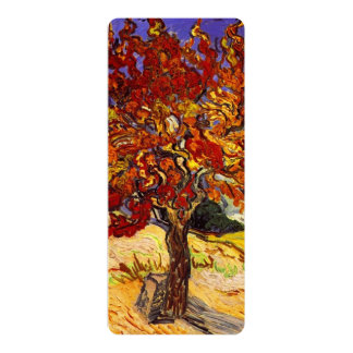 Vincent Van Gogh Mulberry Tree Personalized Announcements