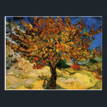 """Vincent van Gogh Mulberry Tree Postcards<br><div class=""""desc"""">This image is available to the public domain because its copyright has expired!</div>"""
