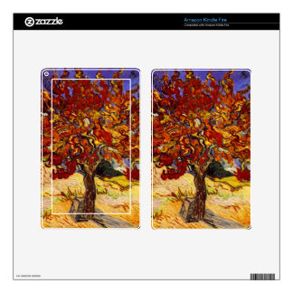 Vincent Van Gogh Mulberry Tree Kindle Fire Skin