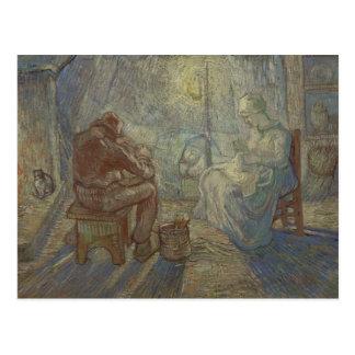 Vincent van Gogh - Night (after Millet) Postcard