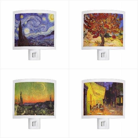 Vincent Van Gogh Night Lights