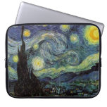 Vincent van Gogh, noche estrellada Fundas Computadoras
