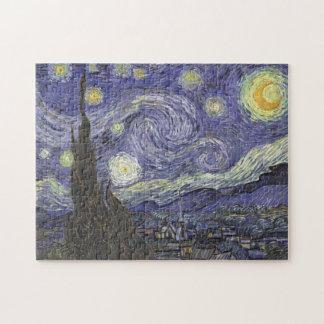 Vincent van Gogh - noche estrellada Puzzle