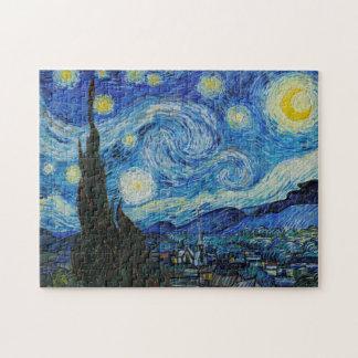 Vincent van Gogh - noche estrellada Rompecabeza