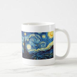 Vincent van Gogh - noche estrellada Tazas