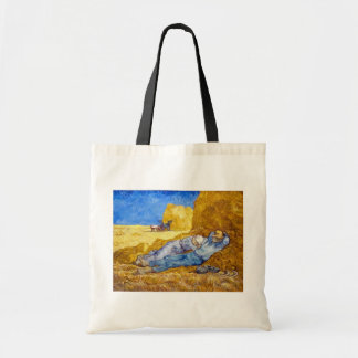 Vincent Van Gogh - Noon Rest From Work - Fine Art Tote Bag