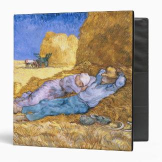 Vincent van Gogh | Noon, The Siesta, after Millet Binder
