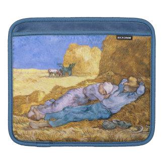 Vincent van Gogh | Noon, The Siesta, after Millet iPad Sleeve